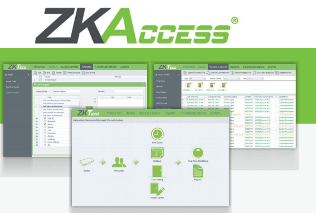 Программное обеспечение СКУД ZKAccess 3.5
